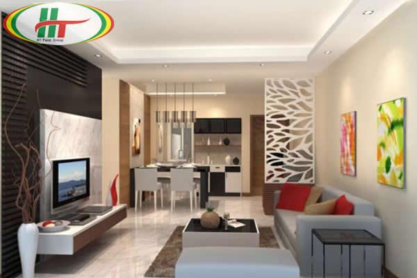 Tô điểm cho không gian phòng khách thêm mới lạ độc đáo