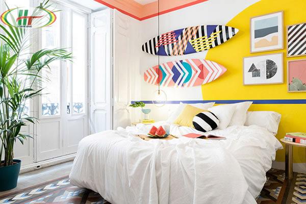 Những màu sơn nội thất đẹp giúp điều tiết tâm trạng mang lại sự thoải mái dễ chịu