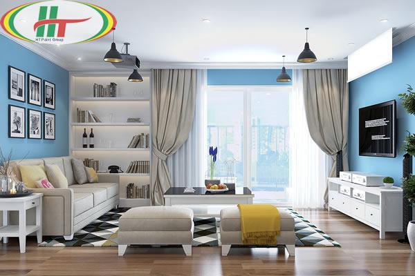 Những điều cần tránh khi phối màu nội thất