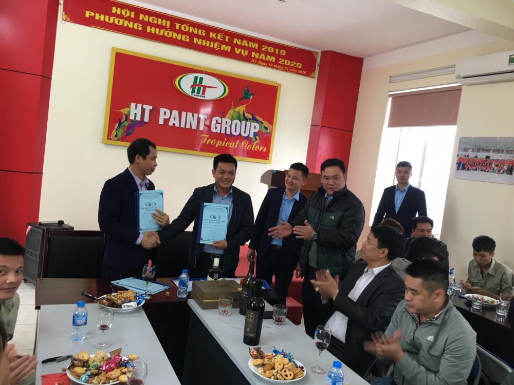 HT Paint Group Khai Xuân Canh Tý 2020