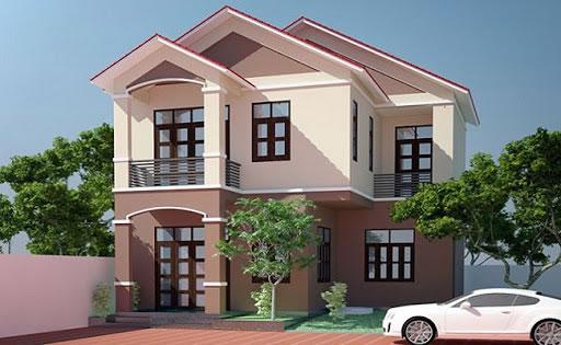 Gợi ý chọn màu sơn phù hợp cho mặt tiền của ngôi nhà