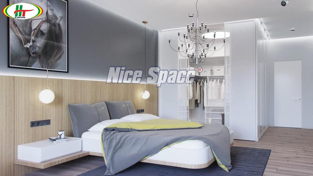 Phòng ngủ màu trung tính