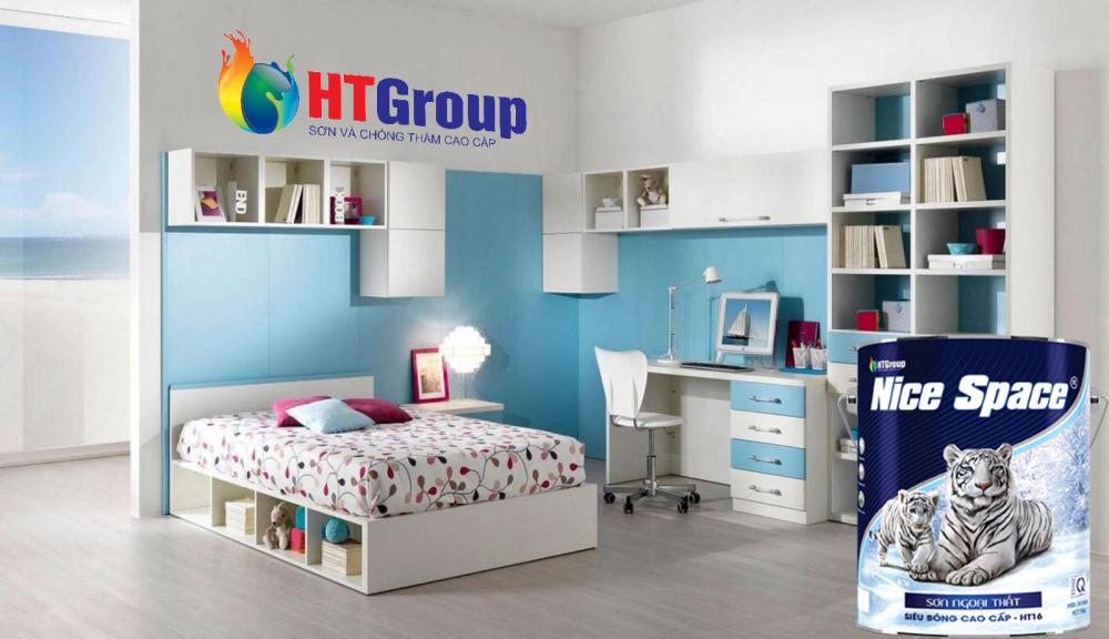 Tìm hiểu những gam màu sơn nội thất đẹp cho phòng của bé