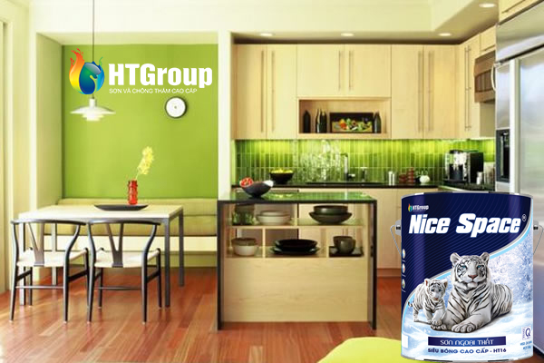 Chọn màu xanh lá cho không gian nhà nổi bật