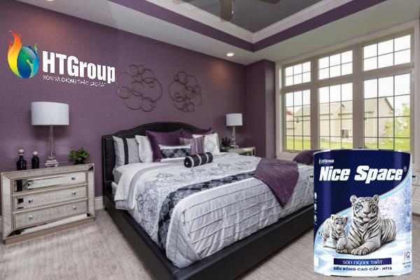 Màu mận và màu tím tía cho phòng ngủ nhẹ nhàng, thư giãn và rất đẹp