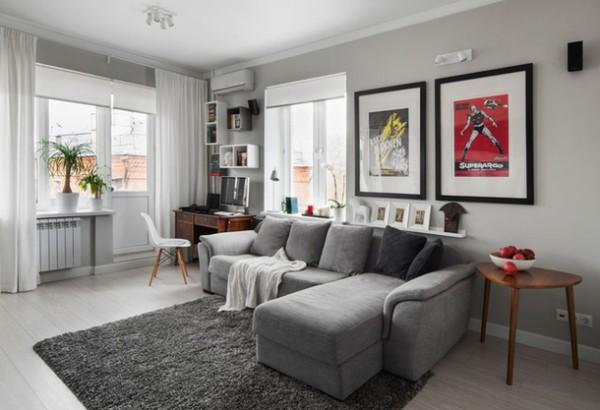 Tuyệt chiêu phối màu sơn mở rộng diện tích cho căn phòng