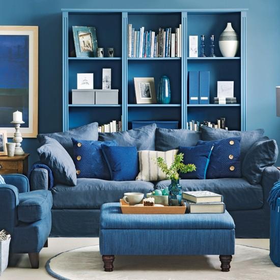 Lý do nên chọn sơn nhà màu xanh dương