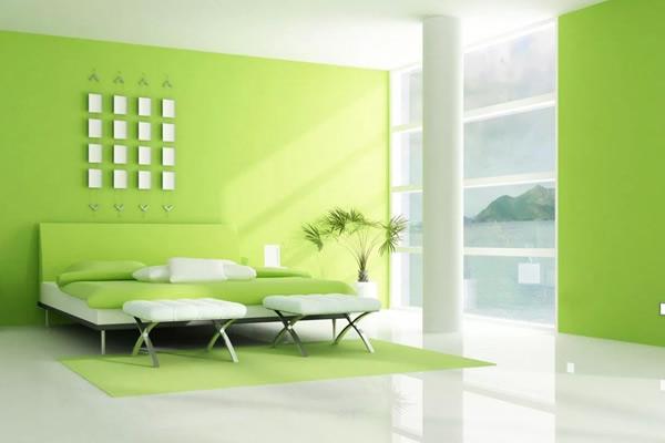 Chọn màu sơn nội thất cho người mệnh Mộc