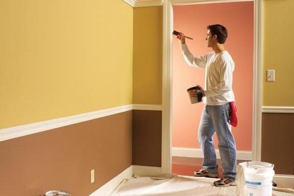 Các bước sơn nhà đẹp khoa học