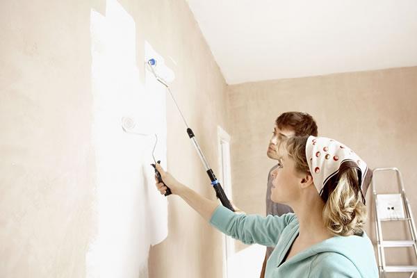 Làm thế nào để tự sơn lại nhà đẹp như mới?