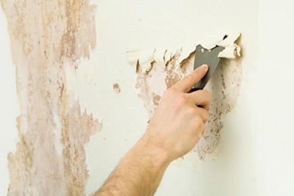 Nguyên nhân, cách xử lý sơn bị bong tróc hay sơn văng