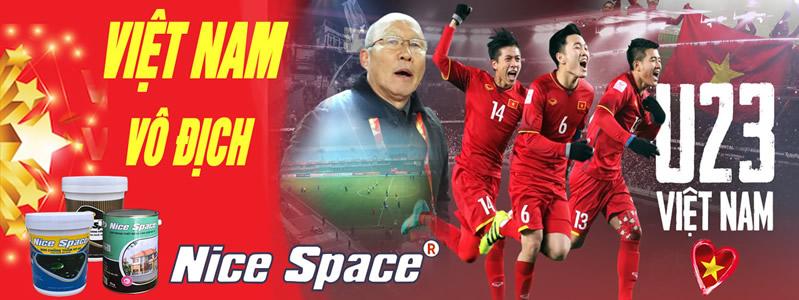 Sơn Nice Space đồng hành cùng đội tuyển U23 Việt Nam - Asiad 2018