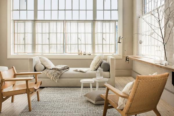 Sử dụng màu sơn nhẹ tạo không gian nhà đẹp