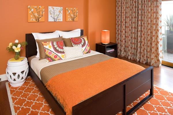 Không gian màu Tangerine Tango sự kết hợp hoàn hảo giữa sắc đỏ và vàng