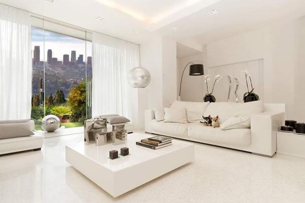 Ý nghĩa của phong thủy màu trắng trong nhà ở