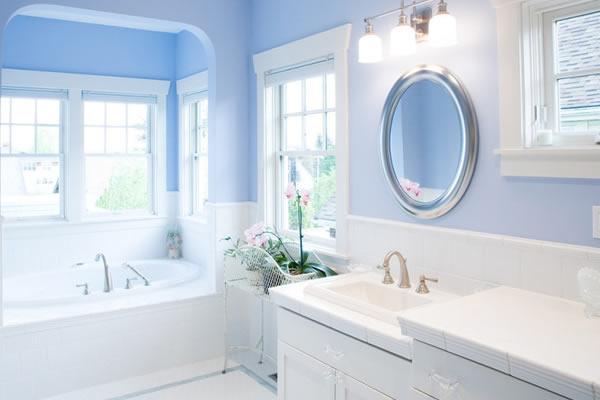 Các cách trang trí màu xanh cho không gian nội thất nhà
