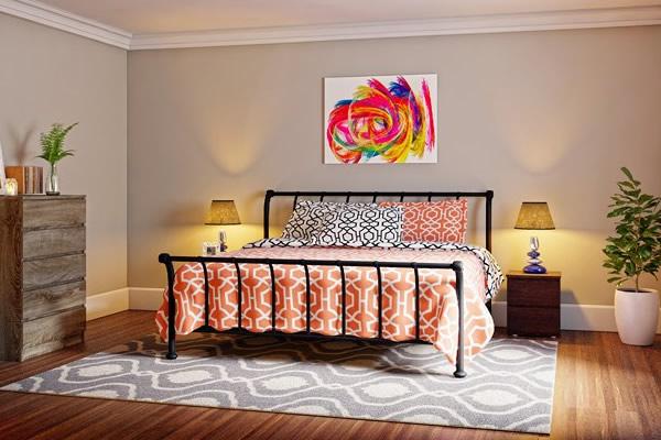 Phòng ngủ theo kiểu Rustic đẹp ngỡ ngàng