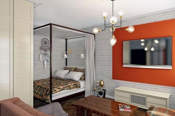 Ý tưởng hay giúp ngăn cách các không gian cho căn hộ nhỏ