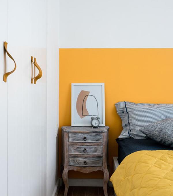Ý tưởng trang trí nội thất nhà cho người mệnh Thổ với tone màu vàng