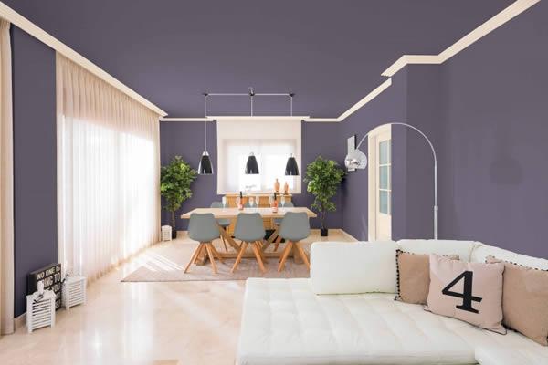 Chọn và kết hợp màu sơn nội thất nhà cần chú ý gì?
