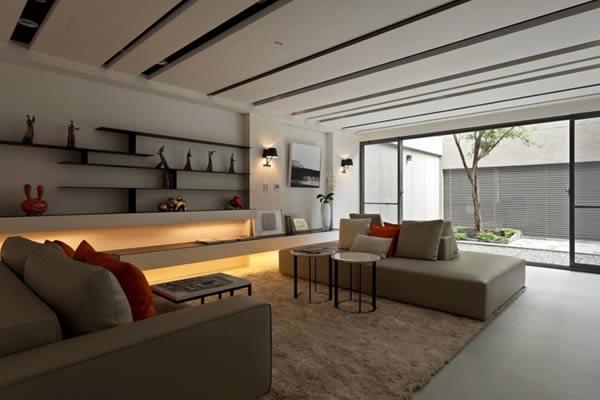 Cách chọn màu và thiết kế phòng khách đẹp hút người nhìn