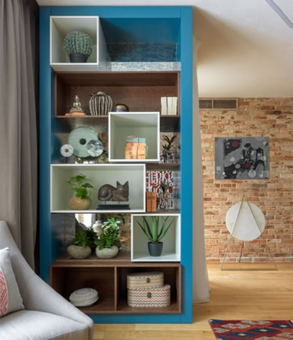 Ý tưởng thiết kế nhà với những tone màu sắc, hệ thống chiếu sáng độc đáo
