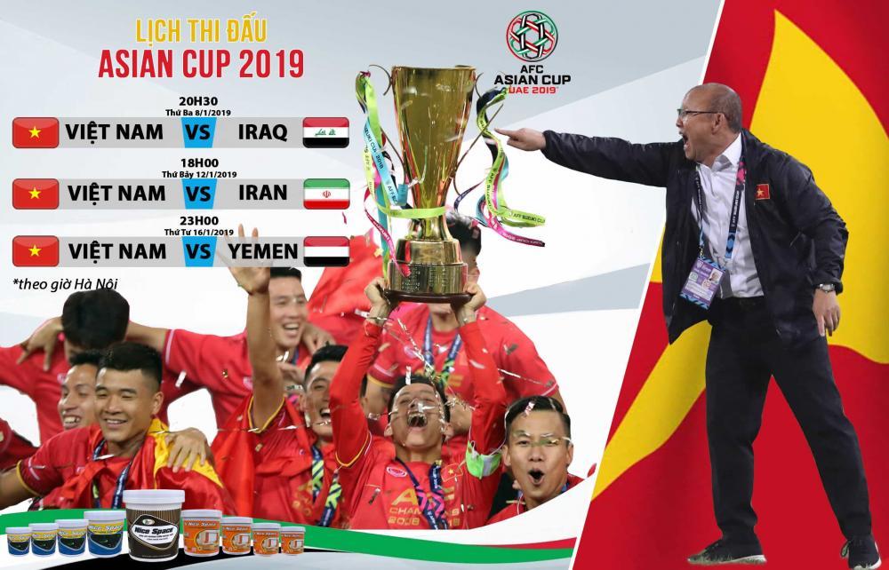 Việt Nam có sự tự tin lớn tại Asian Cup 2019, sau chức vô địch AFF Cup