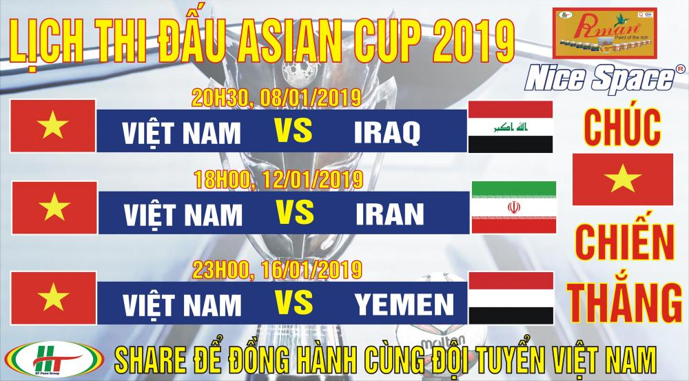 Thể thức của VCK Asian Cup 2019 mang tới nhiều lợi thế cho ĐT Việt Nam đi tiếp