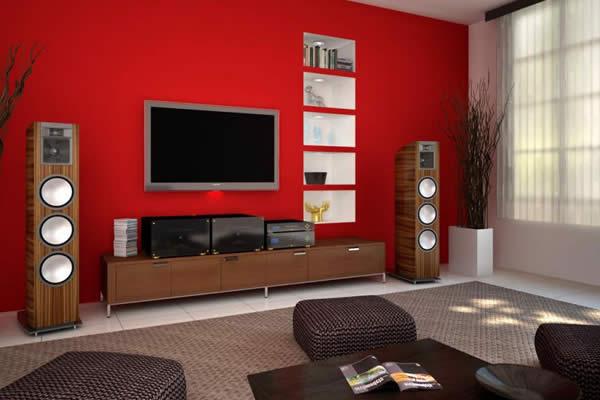 Bí quyết sơn màu nội thất theo tone nóng để có không gian hút ánh nhìn