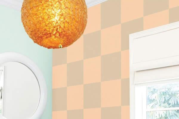 Ý tưởng sơn tường họa tiết làm mới không gian nhà