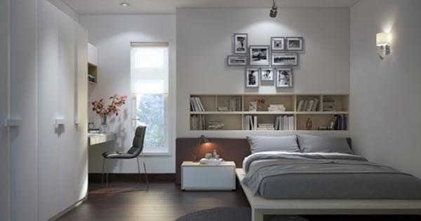 Những mẫu phòng ngủ có cách phối màu đẹp hiện đại, trẻ trung