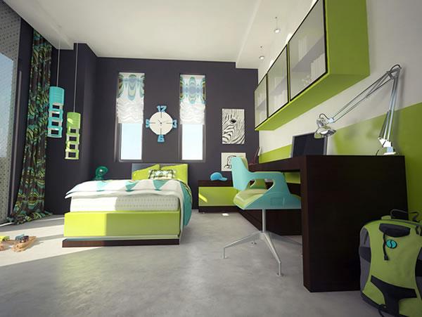 Làm mới phòng ngủ bé với ý tưởng thiết kế sáng tạo cực thú vị