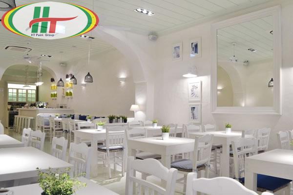 Gợi ý màu sơn nội thất cho nhà hàng thêm hút khách hàng