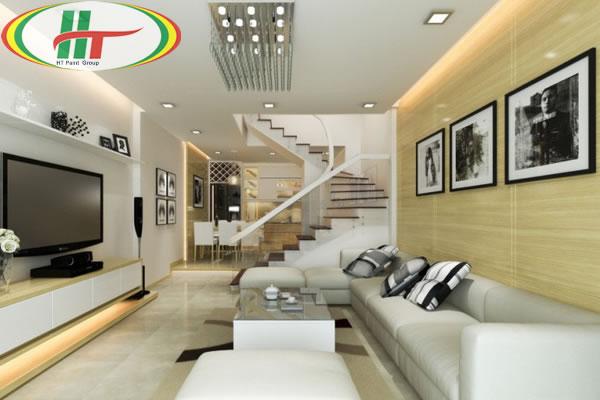 Những lưu ý khi sơn điểm nhấn trang trí nội thất nhà