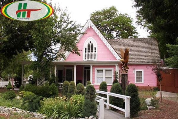 Tổng hợp những màu sơn ngoại thất cho ngôi nhà thêm nổi bật