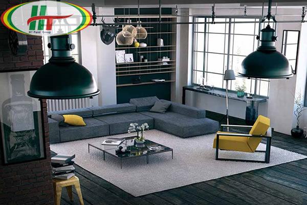 Cách sử dụng màu vàng trong trang trí nội thất phòng khách