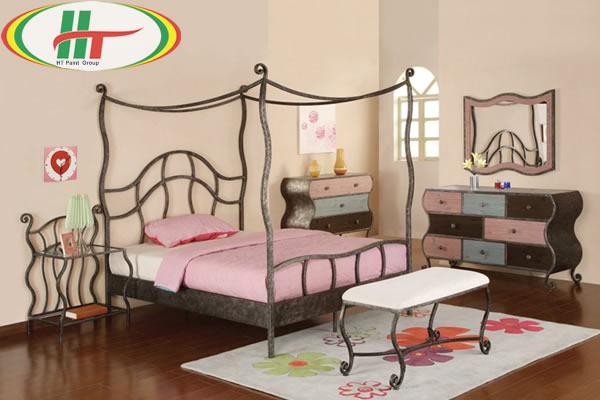 Trang trí nội thất phòng trẻ với những gam màu ấn tượng
