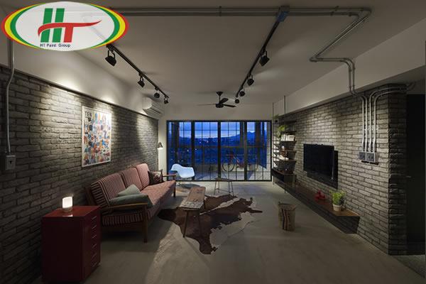Chiêm ngưỡng căn hộ thiết kế nội thất theo phong cách công nghiệp ấn tượng