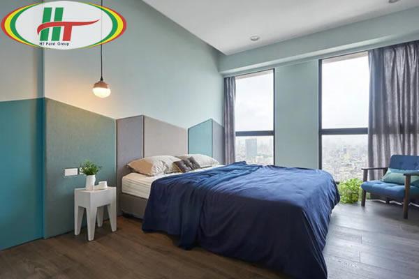 Chiêm ngưỡng không gian trang trí nội thất màu xanh dương