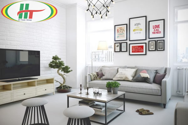 Lý do màu xám trắng được ưa chuộng trong sơn nhà