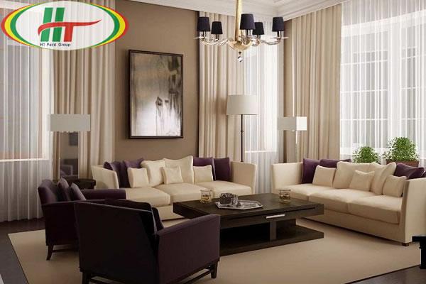 Gợi ý phối màu sơn tường với màu rèm cửa cho không gian sống thêm ấn tượng