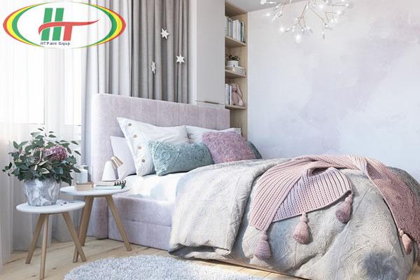 Gợi ý trang trí nội thất mang sắc xuân vào phòng ngủ