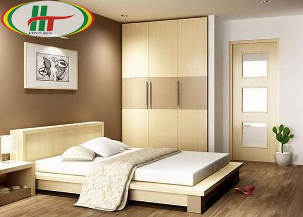 Gợi ý màu sơn nội thất phòng ngủ nhỏ cho không gian thêm thoáng rộng