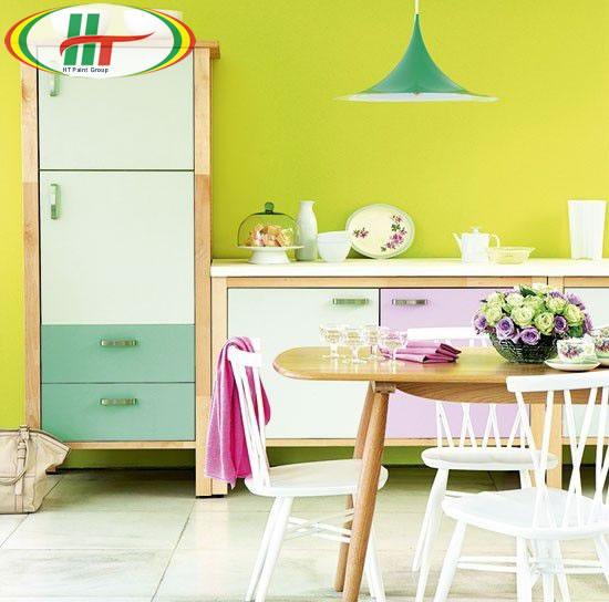 Gợi ý cách phối màu nội thất cho nhà bếp năm 2020