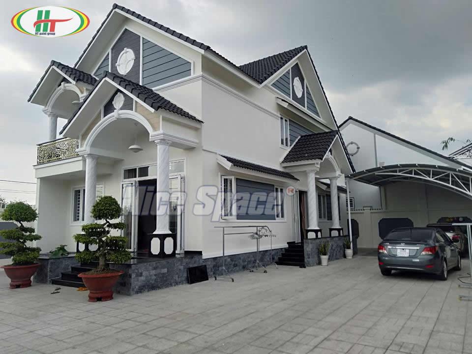 Xu hướng xây nhà mái thái với thiết kế hiện đại