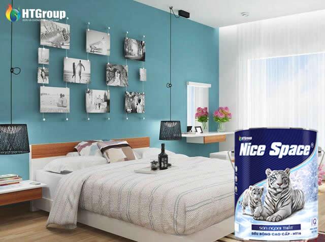Mệnh thủy nên sơn phòng ngủ màu gì?