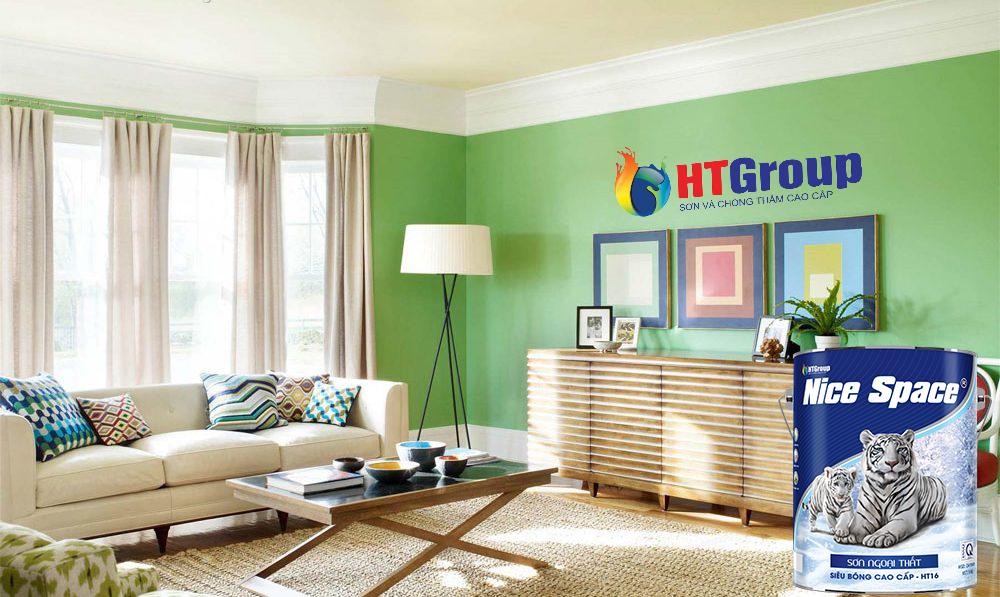 Chọn màu sơn xanh sơn nội thất và ngoài thất cần chú ý điều gì?