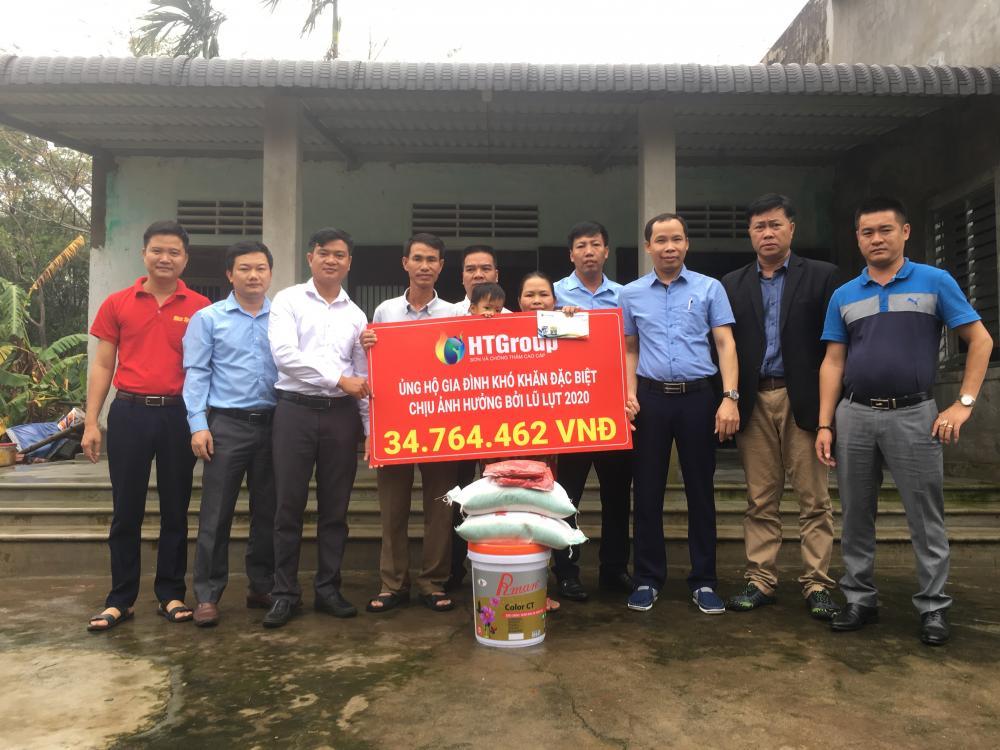 HTGroup ủng hộ Miền Trung sau đợt lũ lụt 2020