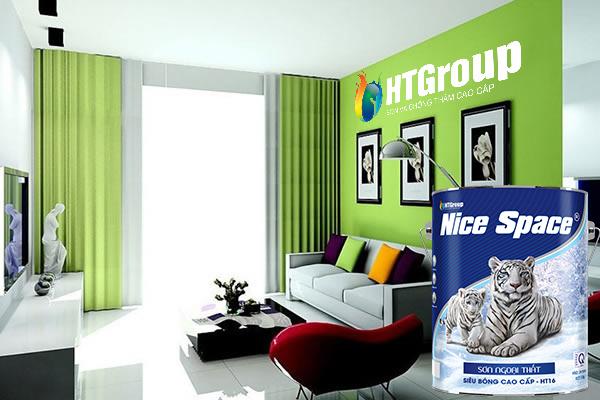 Màu xanh lá cho không gian nhà nổi bật