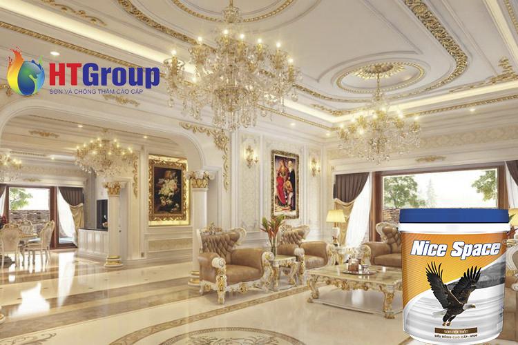 Màu sơn nội thất theo phong cách cổ điển